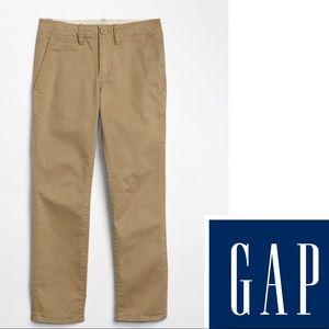 New Gap Kids Boys Chino Khakis Pants